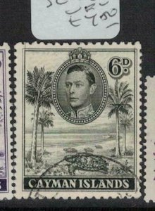 Cayman Islands SG 122 VFU (10eei)