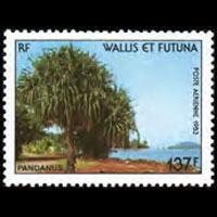WALLIS & FUTUNA 1983 - Scott# C127 Tree Set of 1 NH