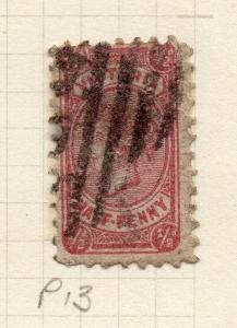 AUSTRALIA VICTORIA 1873-87 Early Issue Fine Used 1/2d. 195337