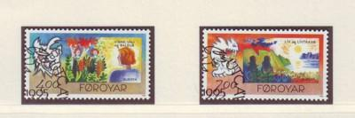 Faroe Islands Sc 282-3 1995  Europa stamp set used