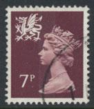 Great Britain Wales  SG W23 SC# WMMH8 Used  see scan 1 center band