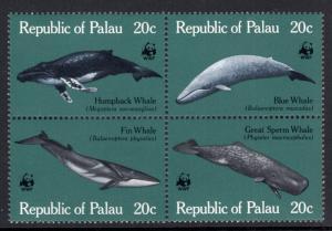 Palau 27a Whales MNH VF