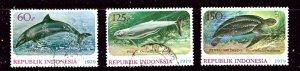 Indonesia 1064-66 Used 1979 set    (ap3128)