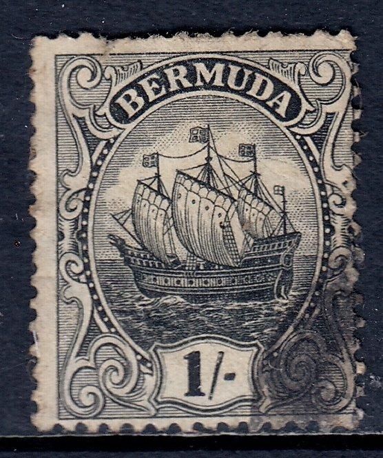 Bermuda - Scott #48a - Used - Sm. tear in UL margin, sh. perfs - SCV $19