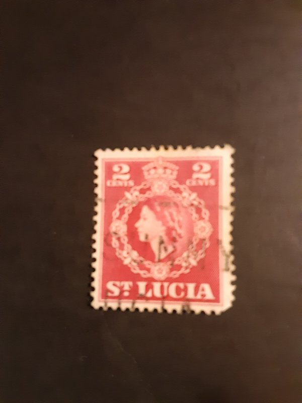 ^St. Lucia #158                Used