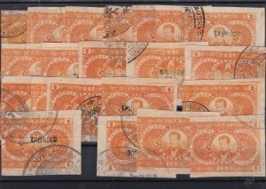 Mexico 1883-1884 Revenue Stamps ref R 17834