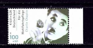 Germany B891 MNH 2001 Charlie Chaplin
