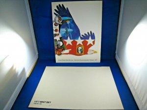 UNITED STATES  -  USPS 1977 MINT SET  -  LOT OF 10