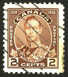 Canada #212 USED
