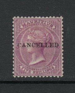 Mauritius, Sc 41 (SG 71), MHR