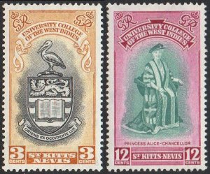 St Kitts-Nevis 1951 Inauguration of BWI University MH