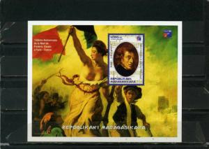 MADAGASCAR 1999 PAINTINGS/FREDERIC CHOPIN S/S MNH