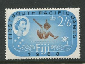 Fiji - Scott 202 - QEII General Issue 1963 - MVLH - Single 2/6d Stamp
