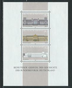 Germany 1466 1986 Buildings s.s. MNH