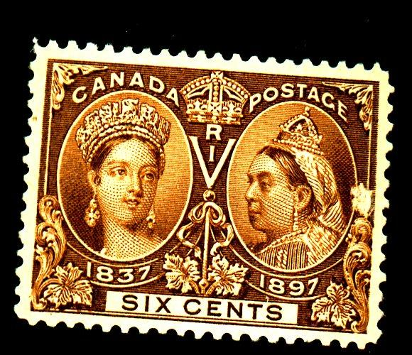 Canada #55 MINT VF No gum Cat$230