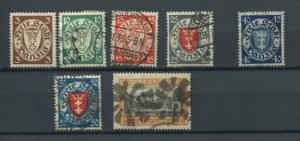 Poland/Germany/Danzig 1938 Accumulation Used