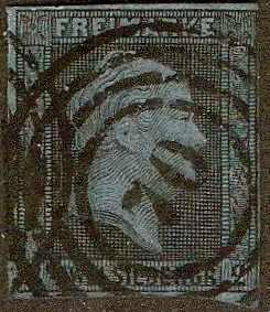 Prussia - #4 -used- 1858- William IV- 2sg - SCV-$16.00