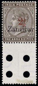 Zanzibar Scott 24dE Gibbons 22lE Mint Stamp