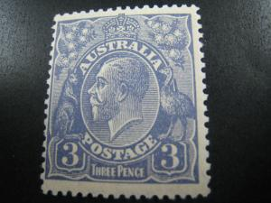 AUSTRALIA - SCOTT # 72a   MLH   (APS A-6)