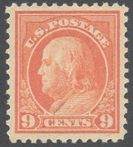 US Scott #509 Mint, VF, XL Hinge