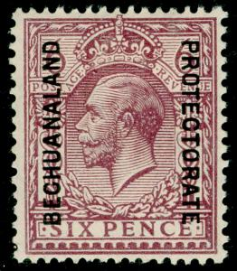 BECHUANALAND SG97, 6d Purple Ordinary Paper, M MINT. Cat £50.