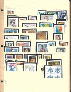 1743//B1 Mint,OG,NH... SCV $41.25... Assortment of 69 stamps