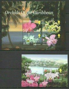 MV MONTSERRAT FLORA NATURE FLOWERS ORCHIDS OF THE CARIBBEAN BL+KB FIX