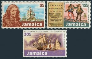 Jamaica 331-333,MNH.Michel 333-335. Pirates,1971.Henry Morgan,Mary Read,A.Bonny.