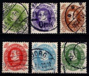 Denmark 1930 Christian X 60th Birthday, Part Set [Used]