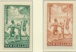 New Zealand Stamps Scott #B16 To B17, Mint Hinged