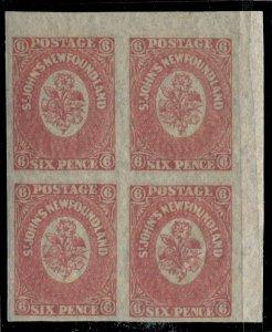 Newfoundland #20 SG 20 MNH VF 6 Pence 1861-1862 Is. [N4057] CV=$240.00