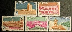 Cambodia Scott #101-105 mnh