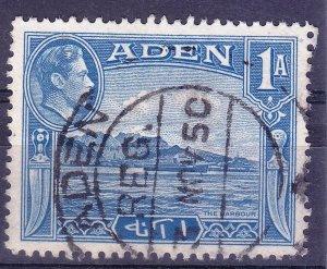 Aden - #18 - A89 - 1939/48 - VFU - KGVI - CV$0.50