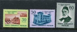 Turkey #1593-5 MNH (Box1)