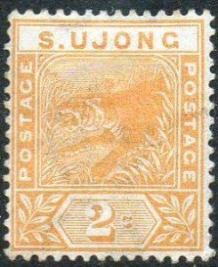 Sungei Ujong 1894 2c orange (tiger) MH