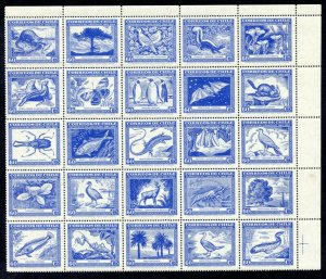 Chile 254-55, C124 MNH complete set centenary of Gay's Natural History of Chile