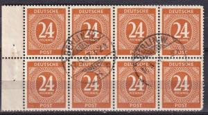Germany #544 F-VF Used  Booklet  Pane CV $120.00 (A18303)