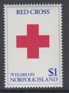 Norfolk Island 461 Red Cross MNH VF