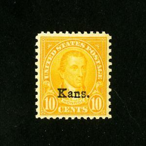 US Stamps # 668 Supurb Choice OG NH
