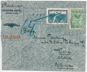 BIRDS - POSTAL HISTORY  ARGENTINA : AIRMAIL COVER to AUSTRIA - 1931