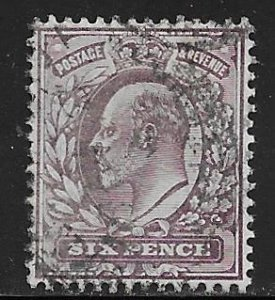 Great Britain 135 used SCV $10.00  -   -19022