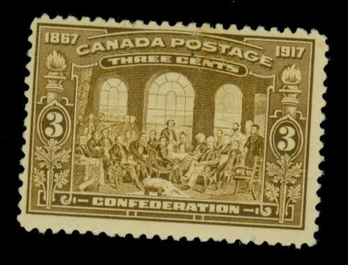 Canada #135 MINT F-VF OG LH Cat$47.50