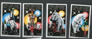Germany 1978 Mi 2364-7 MNH Circus  g2291hs