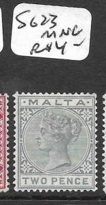 MALTA  (P2511B) QV 2D  SG 23   MNG