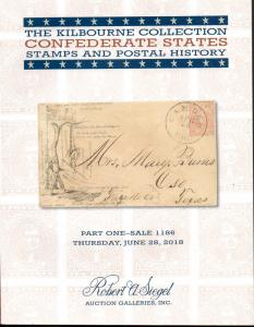 Kilbourne Collection of Confederate Postal History Part One