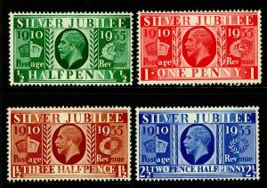 SG453-456, COMPLETE SET, M MINT.