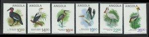 Angola Scott 683-688 MNH! Water Fowl!