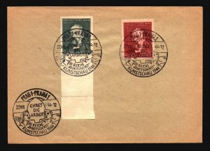 Germany 1944 Kunstschau Event Cover / Light Creasing - Z16763