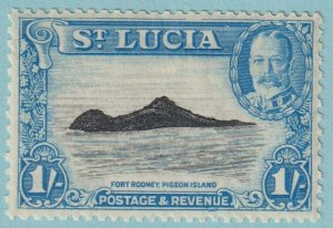 ST LUCIA 103 MINT NEVER HINGED OG **NO FAULTS EXTRA FINE
