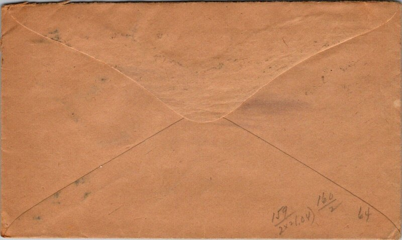 1921 London > Auburn ME USA advertising Colebrook & Knight stamped cover